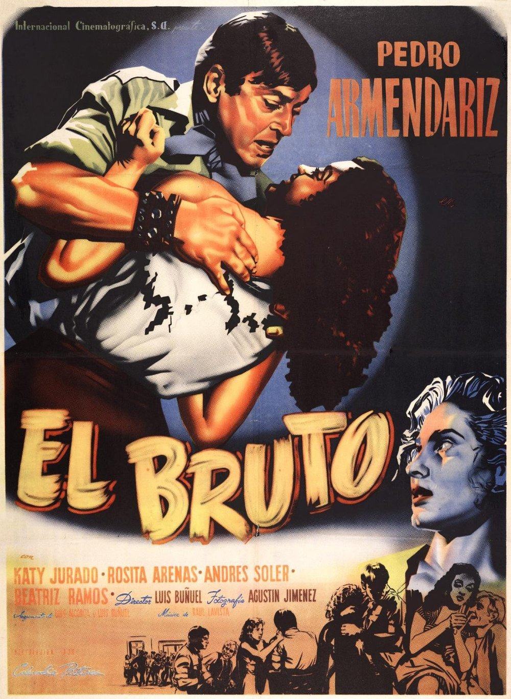El bruto 1952 cartel