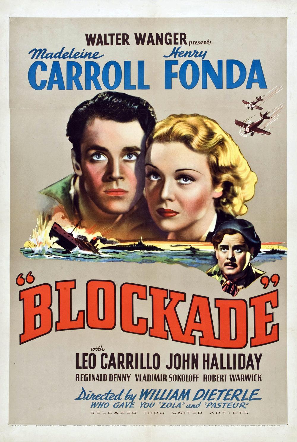 Poster - Blockade (1938)_01.jpg