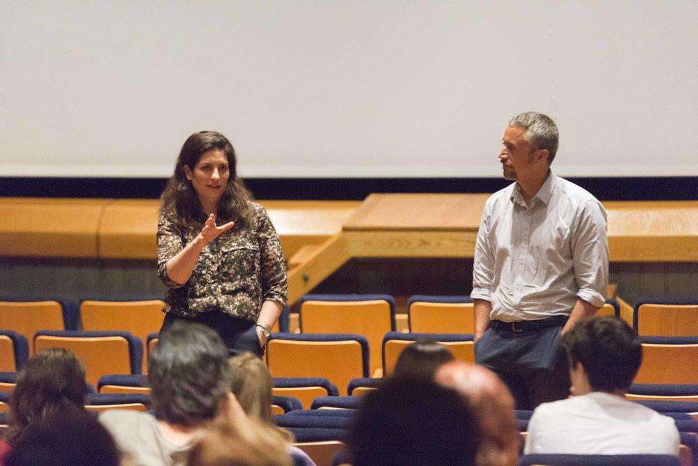 Prólogo de Ibértigo 2018 con María Álvarez. Proyección de 'Las Cinéphilas'