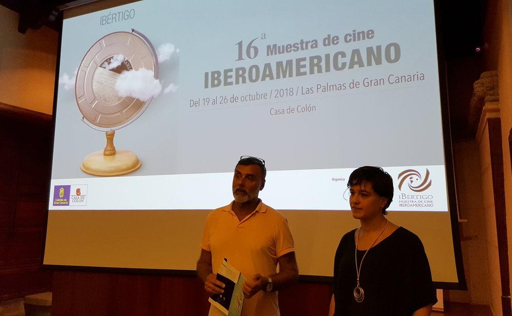 Primera sesión de Ibértigo 2018, con Laura Toledo. Proyección de 'Replicante'