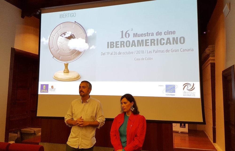 Apertura de Ibértigo 2018, con Milagros Mumenthaler. Proyección de 'La idea de un lago'