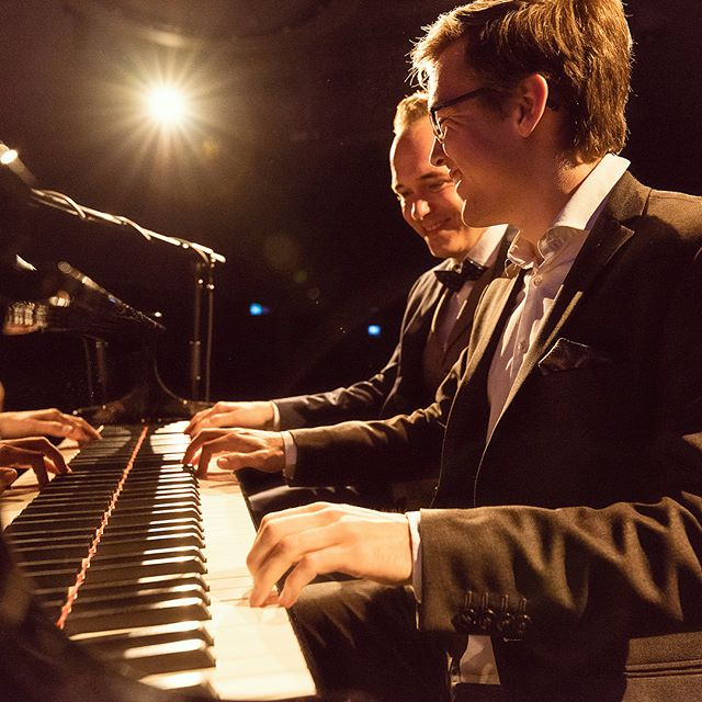 Had a great time playing with Chris Conz at this years #swingthespring 🎹 photo: Armin Pfister