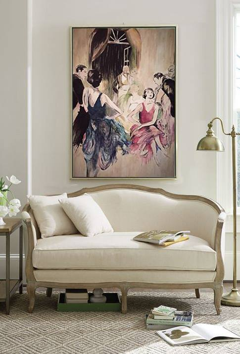 •Make the most of your walls.. Use artwork to elevate the ambiance of your interior space and to compliment your furniture.•
