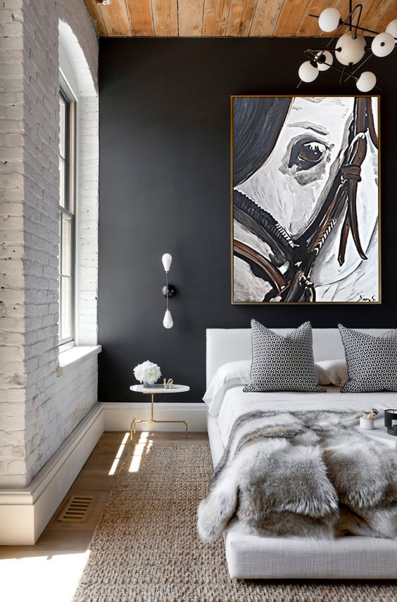 •Always try to maintain color balance while choosing your art.. Carrying this balance of color through accents and accessories spreads the influence of the painting.•