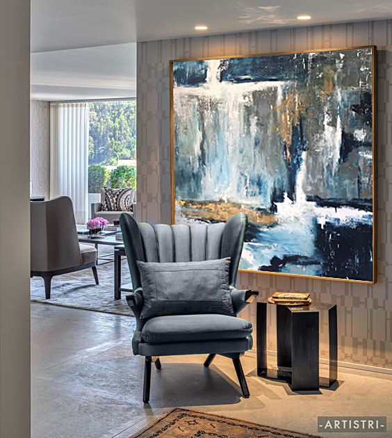 • No matter what your home style is, artwork will always be the magic piece that stands out and transforms your space •