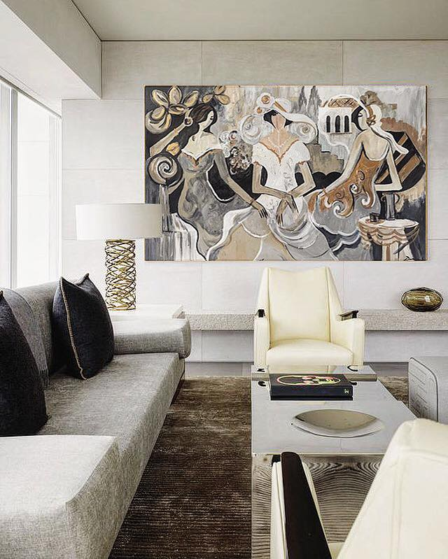 •Sophistication is easy to achieve when using neutral tones. Add luxurious details to your home decor that would make it stand out.•