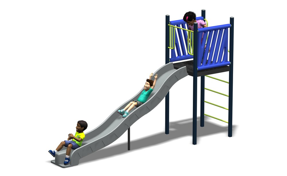 Freestanding Slide 1600