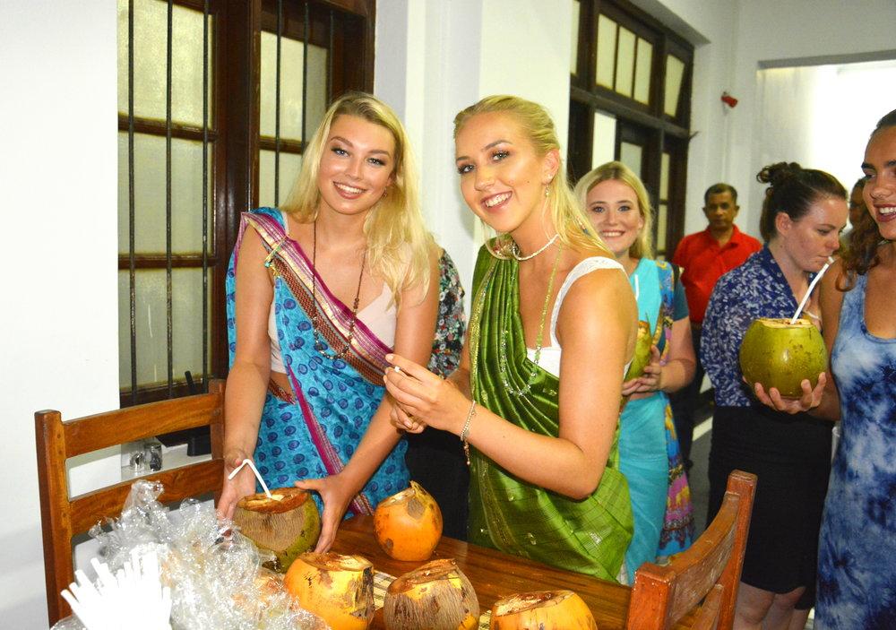 Sari Night and Sri Lankan Buffet