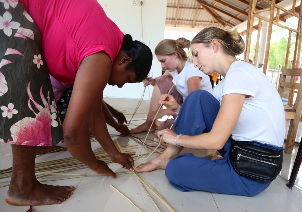 Cultural Experiences: Basket Weaving