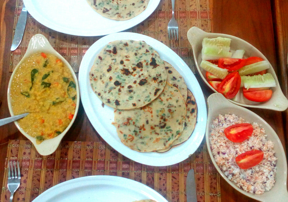 Lunch: Uthapan & Sides