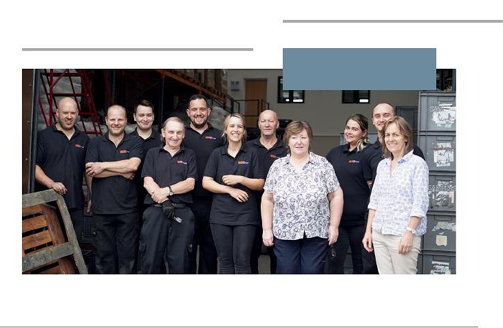 - Some of the Team at Faber Technology