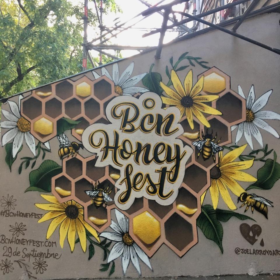 El mural de Joel Arroyo, © foto de Steve Rogenstein
