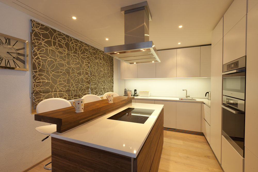 The kitchen was perfect for all our self-catering needs
