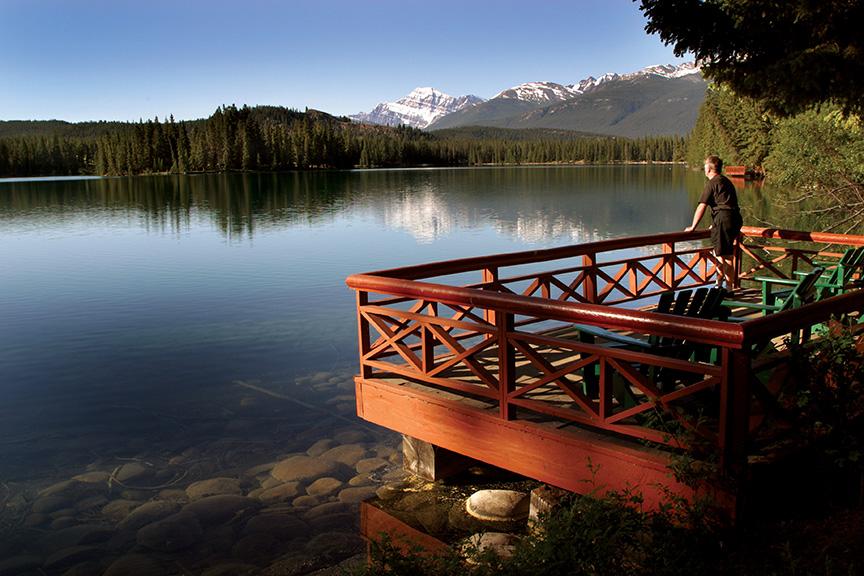 Views from Jasper Park Lodge