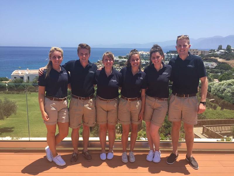 The Powder Byrne Crete team for 2016