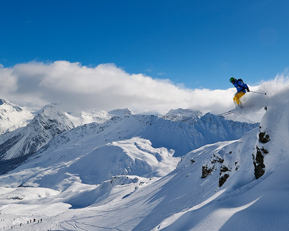 Advanced Skiing in Arosa Powder Byrne Stories Luxury Family