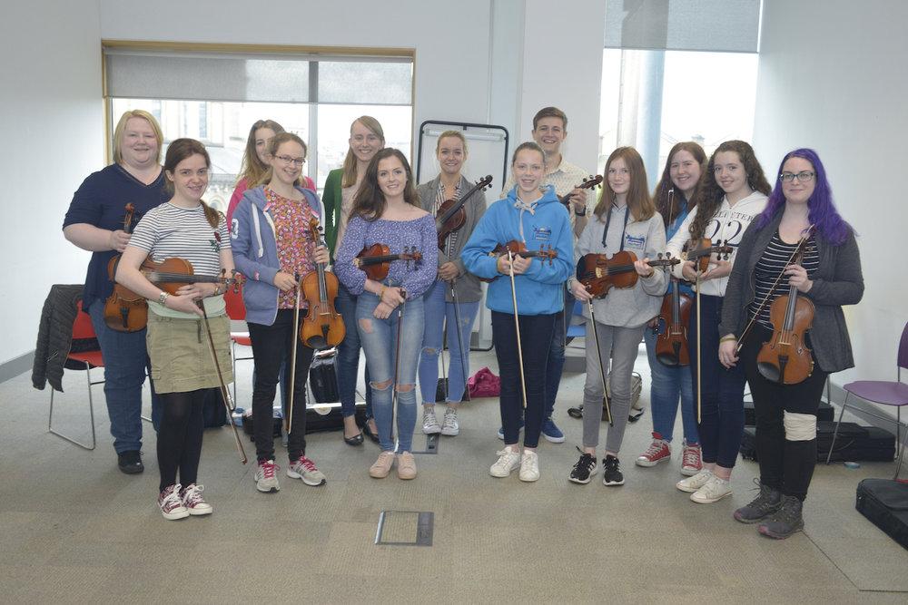 Tara Breen - Fiddle Class