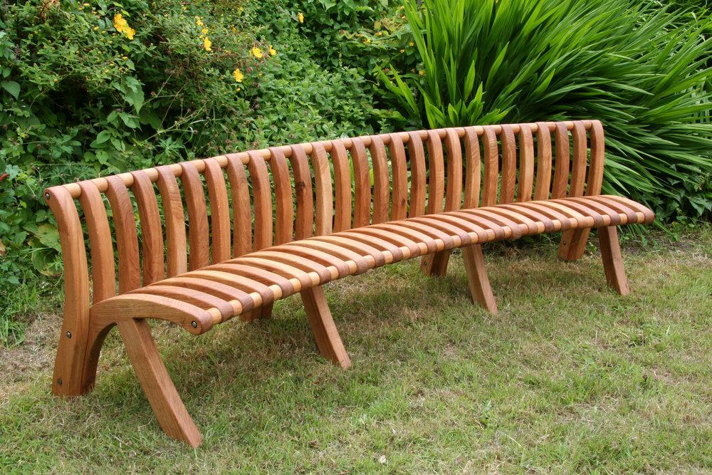 three metre garden seat