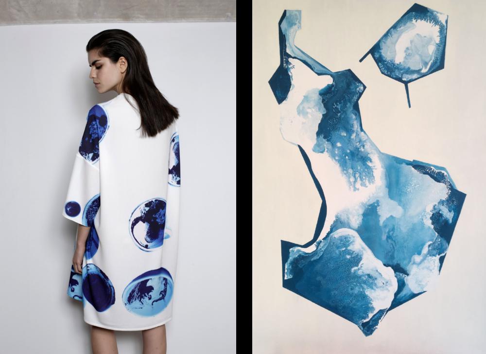 Photo (L) Rui Aguiar (R) Ingeborg ten Hoopen // Fashion Lidija Kolovrat