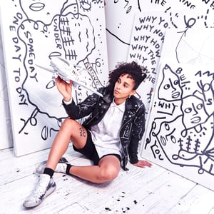 Get inspired by Shantell Martin!Digital Drawing Workout: The Art of Subtraction. -