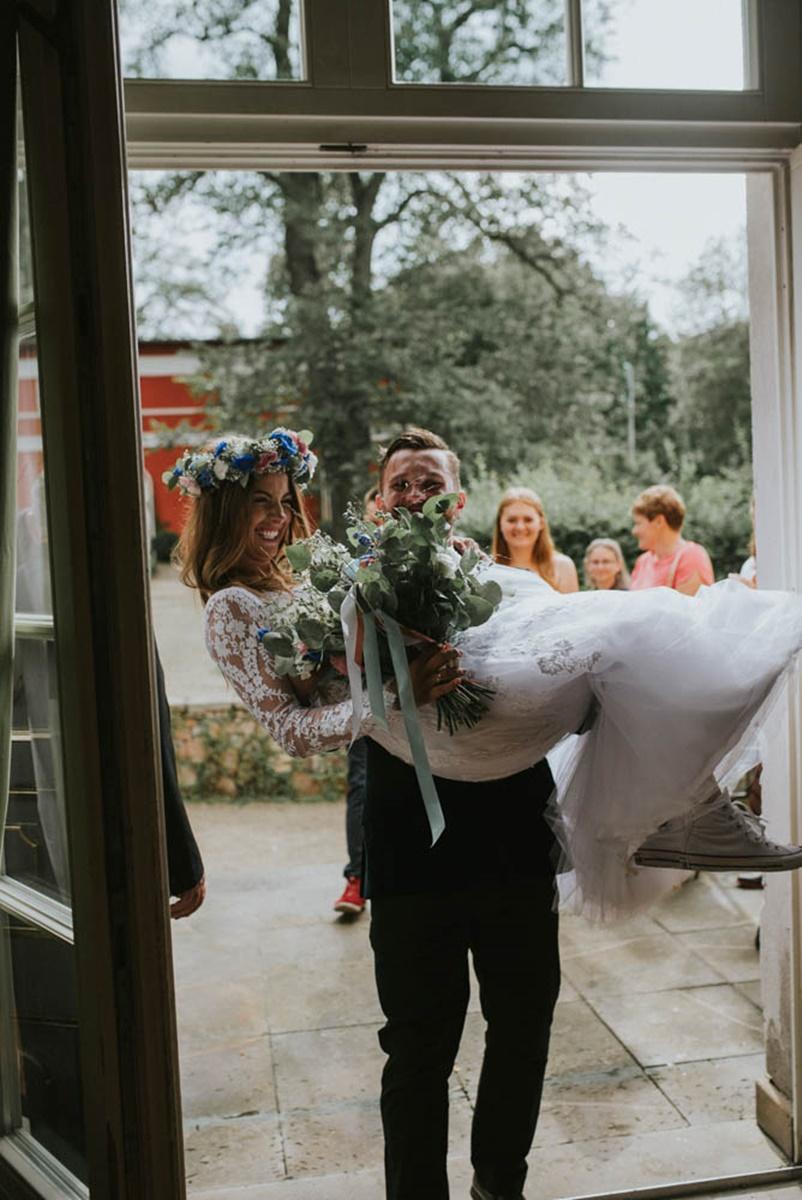 Paula i Milosz | Ślub w plenerze Jelenia Góra