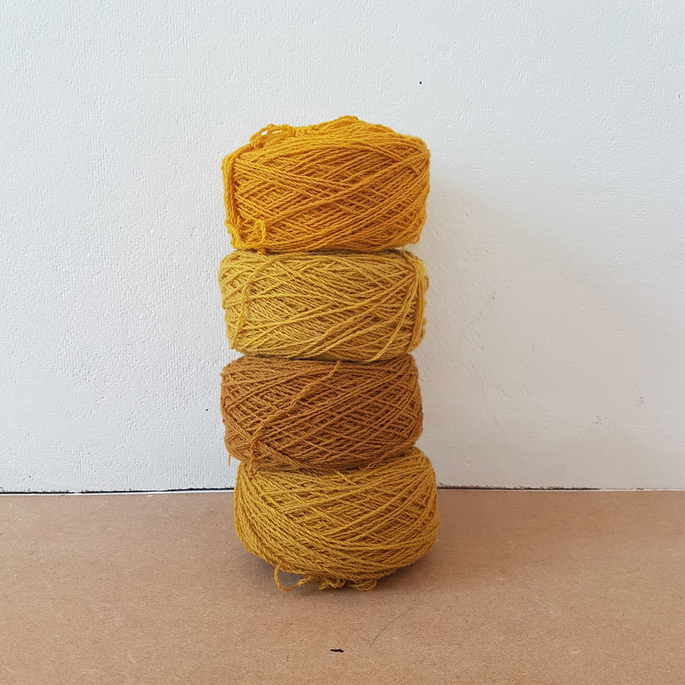 Burns, R. (2017) Turmeric Dye 1. (Own Collection)