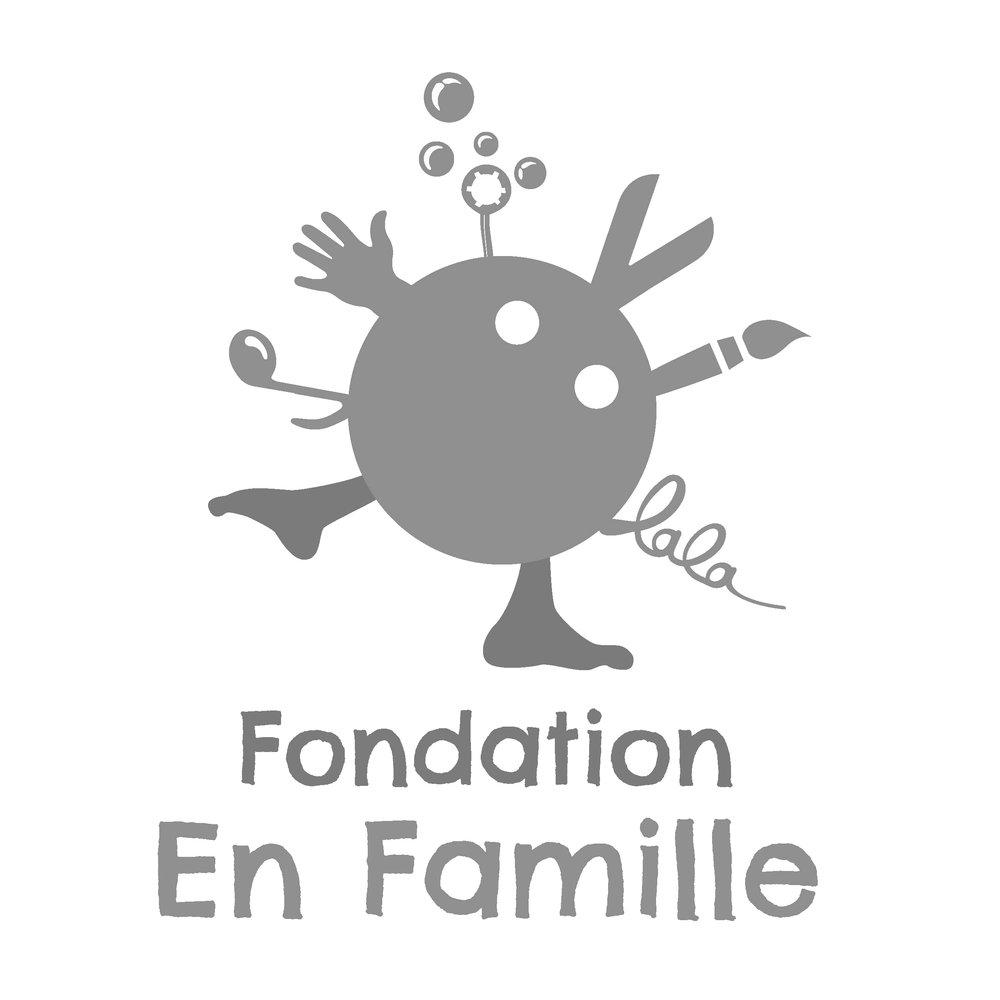 Fondation En famille, client of Pascale Guillou Illustration