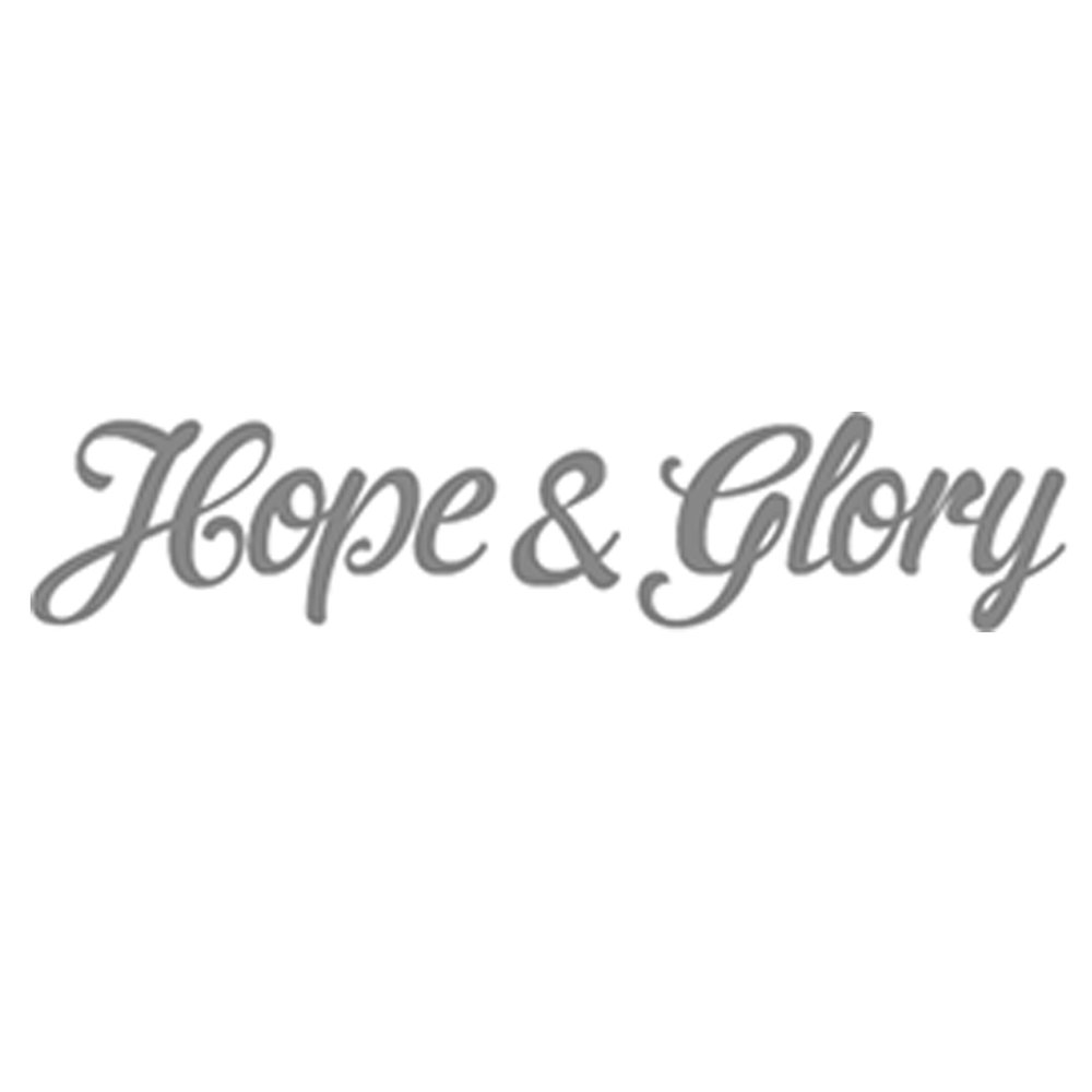 Logo Hope & Glory Client of Pascale Guillou Illustration