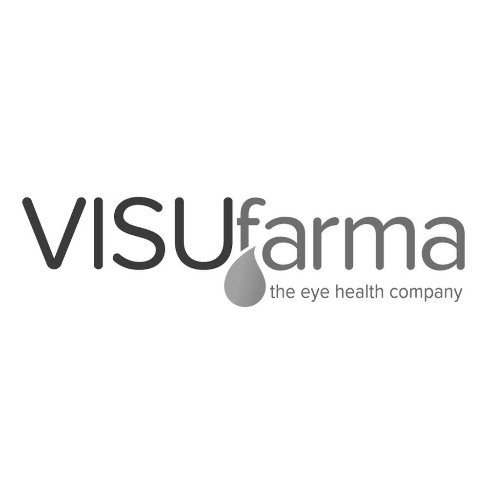 Logo VISUfarma Client of Pascale Guillou Illustration