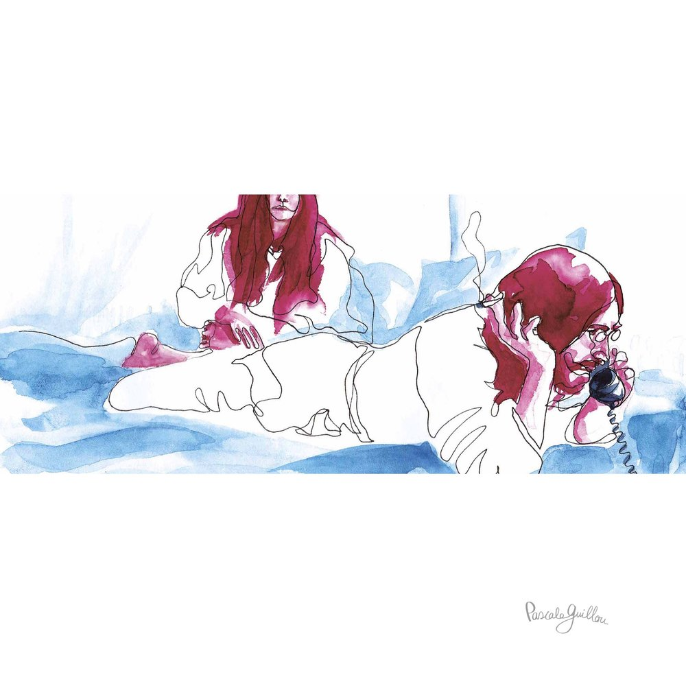 Pascale Guillou Illustration © VPRO John Lennon Yoko Ono Bed-In for peace.jpg