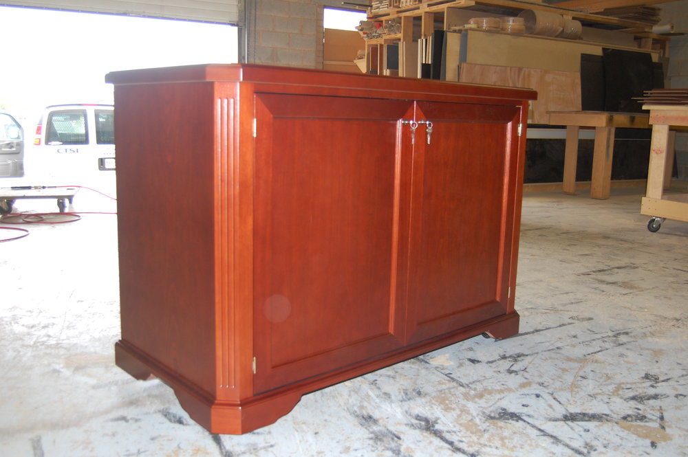 Equipment rack / credenza