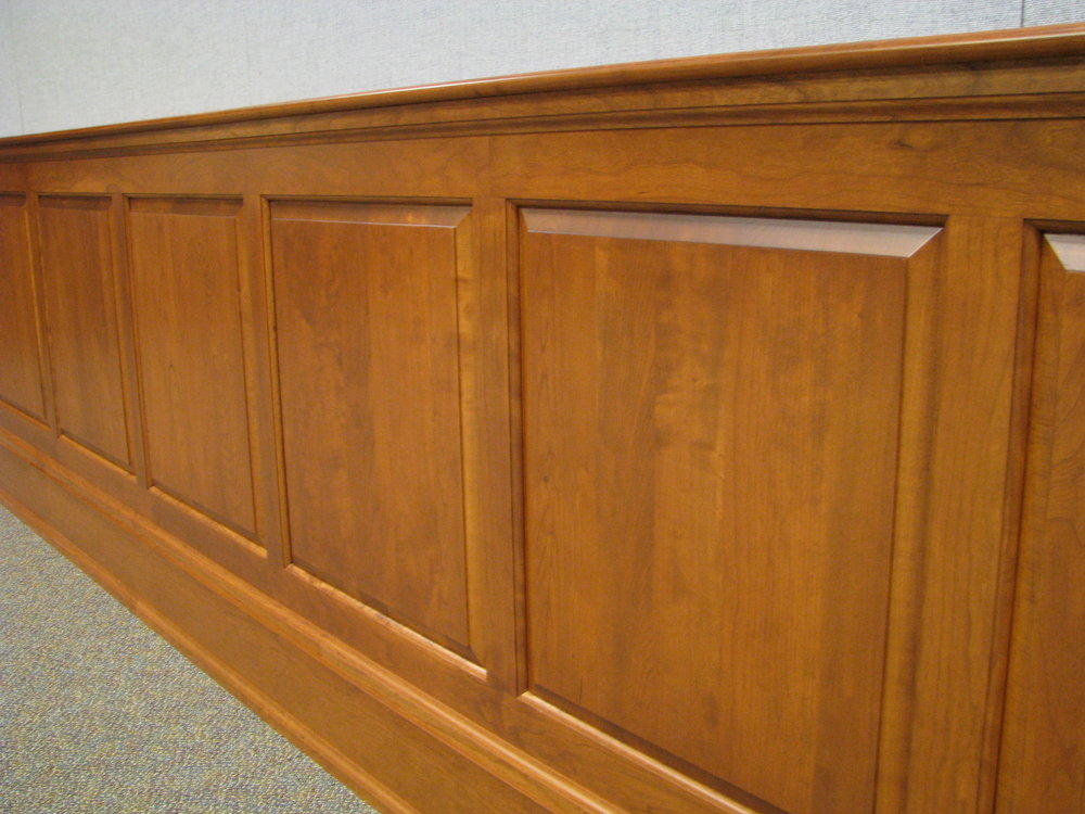 Paneling and millwork