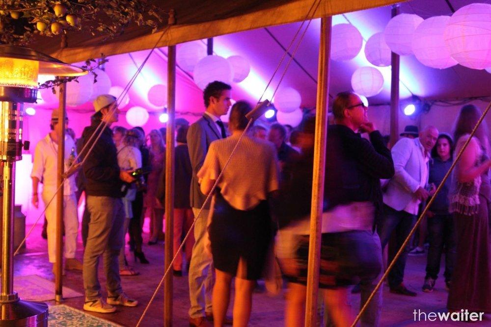 Aluhal tent The Real Gentlemen