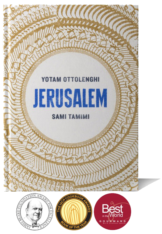 Jerusalem, A Cookbook - Written by Yotam Ottolenghi & Sami TamimiTexts, research and photography2012Winner of The James Beard, Gourmand cookbook, Observer food monthly & International Association of Culinary Professionals awards for Best Cookbook 2013Jerusalem has all the right ingredients, NYTimes