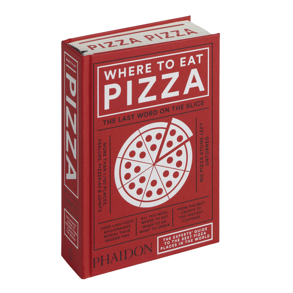 Where to Eat Pizza - By Daniel YoungContributor: Regional pizza ExpertPhaidon Press 2016