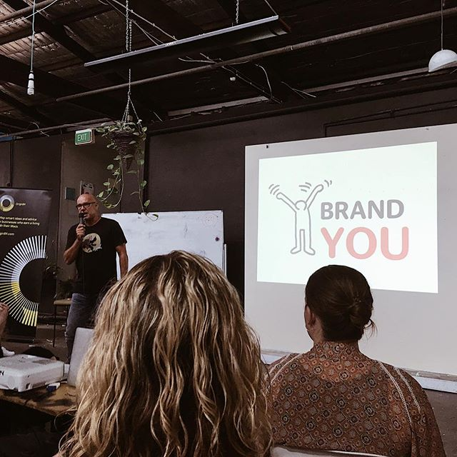 Richard Sauerman AKA @the_brand_guy kicking everyone's ass at this morning's @sydney_cm x @workshopaus event 🙌🏻