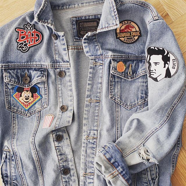 Patches and scratches #denim