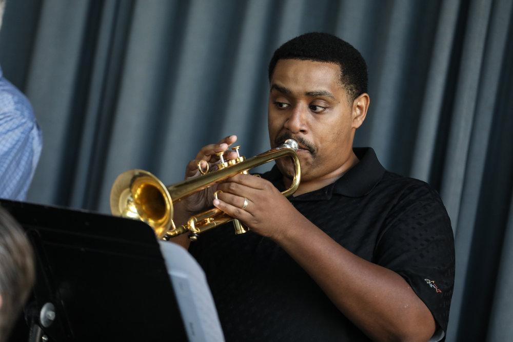 Ansyn Banks, trumpet