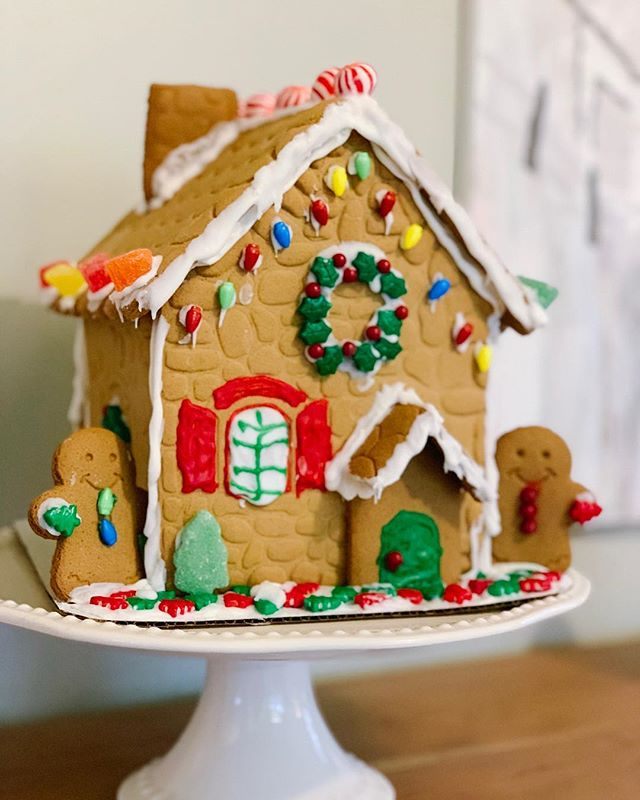 New Listing! This home was painstakingly handcrafted by a cookie expert (aka: toddler) and held together by the finest royal icing money can buy. Don't delay because this adorable home won't last long (🤞🏻till Christmas). #gingerbreadhouse #realestate #realtor #chattanoogahomes