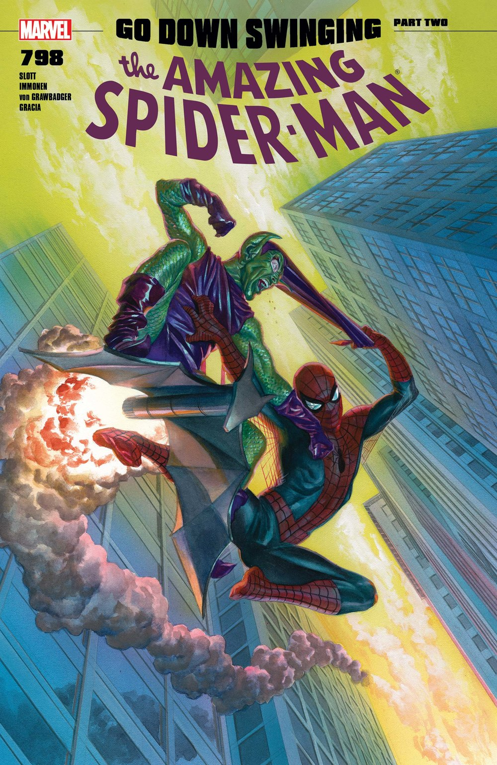 Amazing Spider-Man #798 (First Red Goblin)