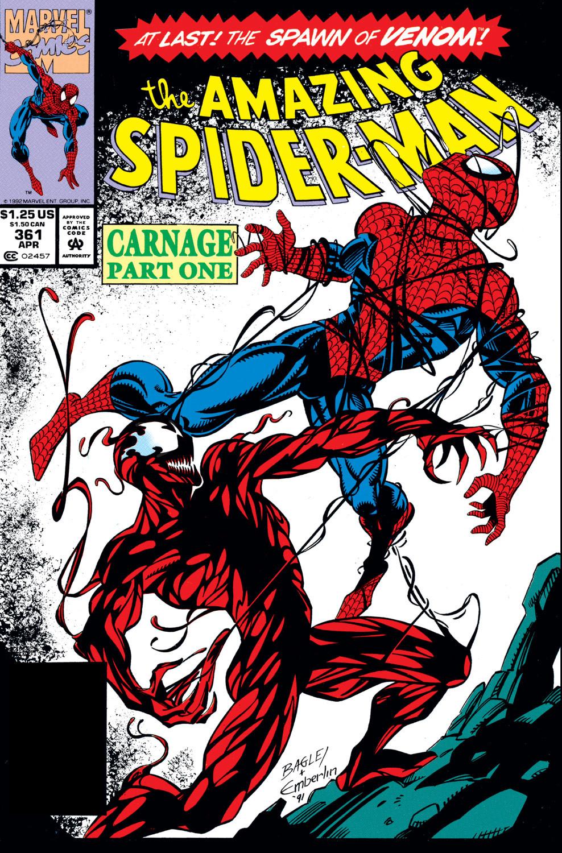Amazing Spider-Man #361 (First Carnage)