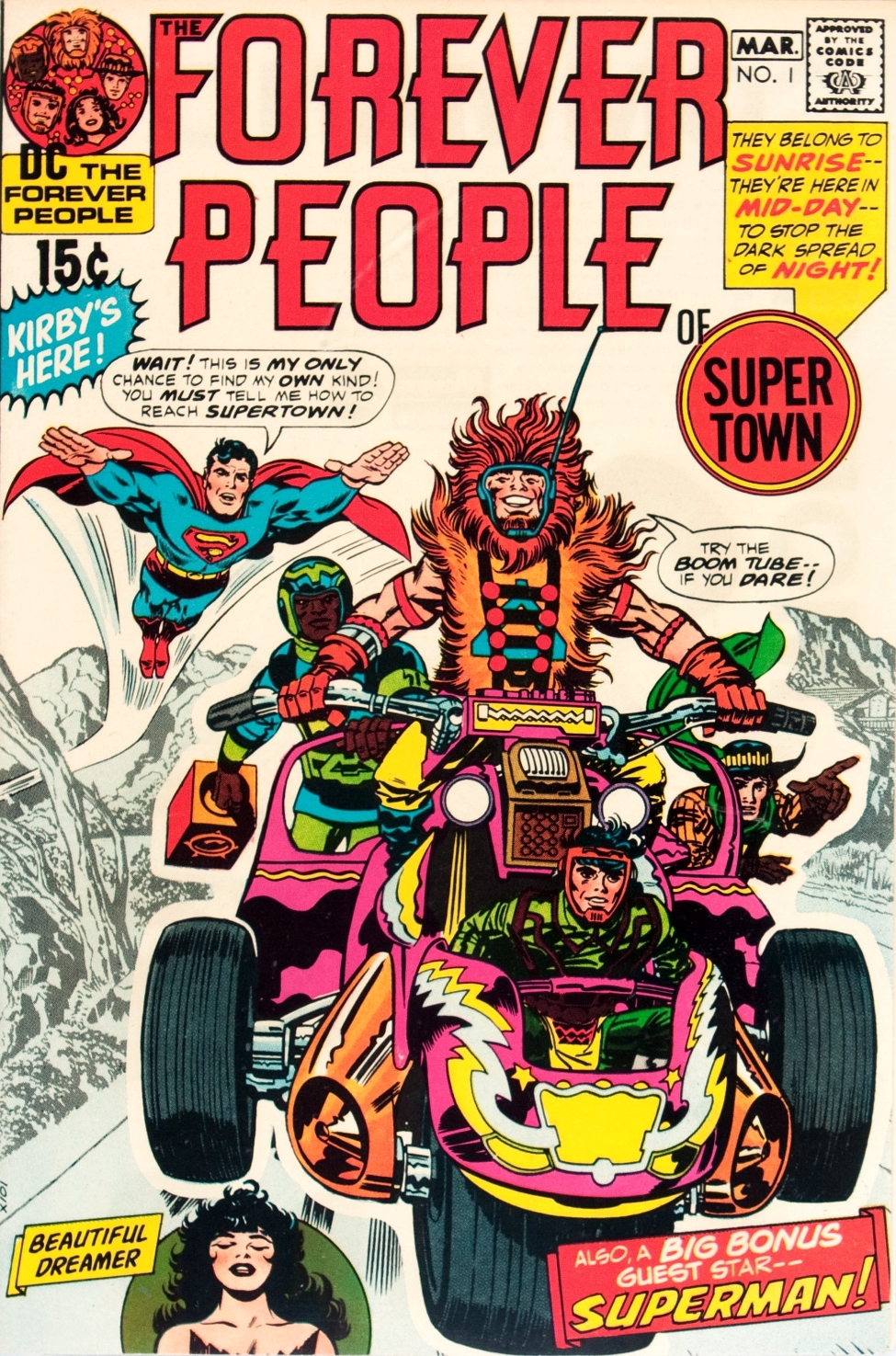 Forever People #1 (First Darkseid)