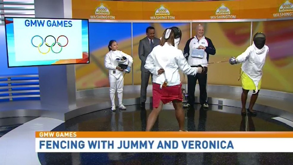 Virginia Academy of Fencing Coach Sasha Ryjik on WJLA's Good Morning Washington