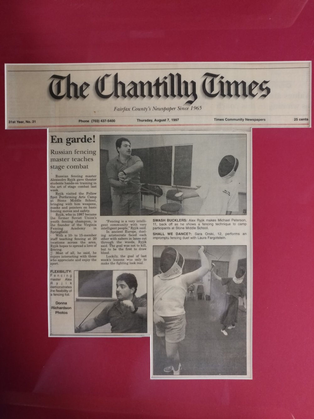The Chantilly Times