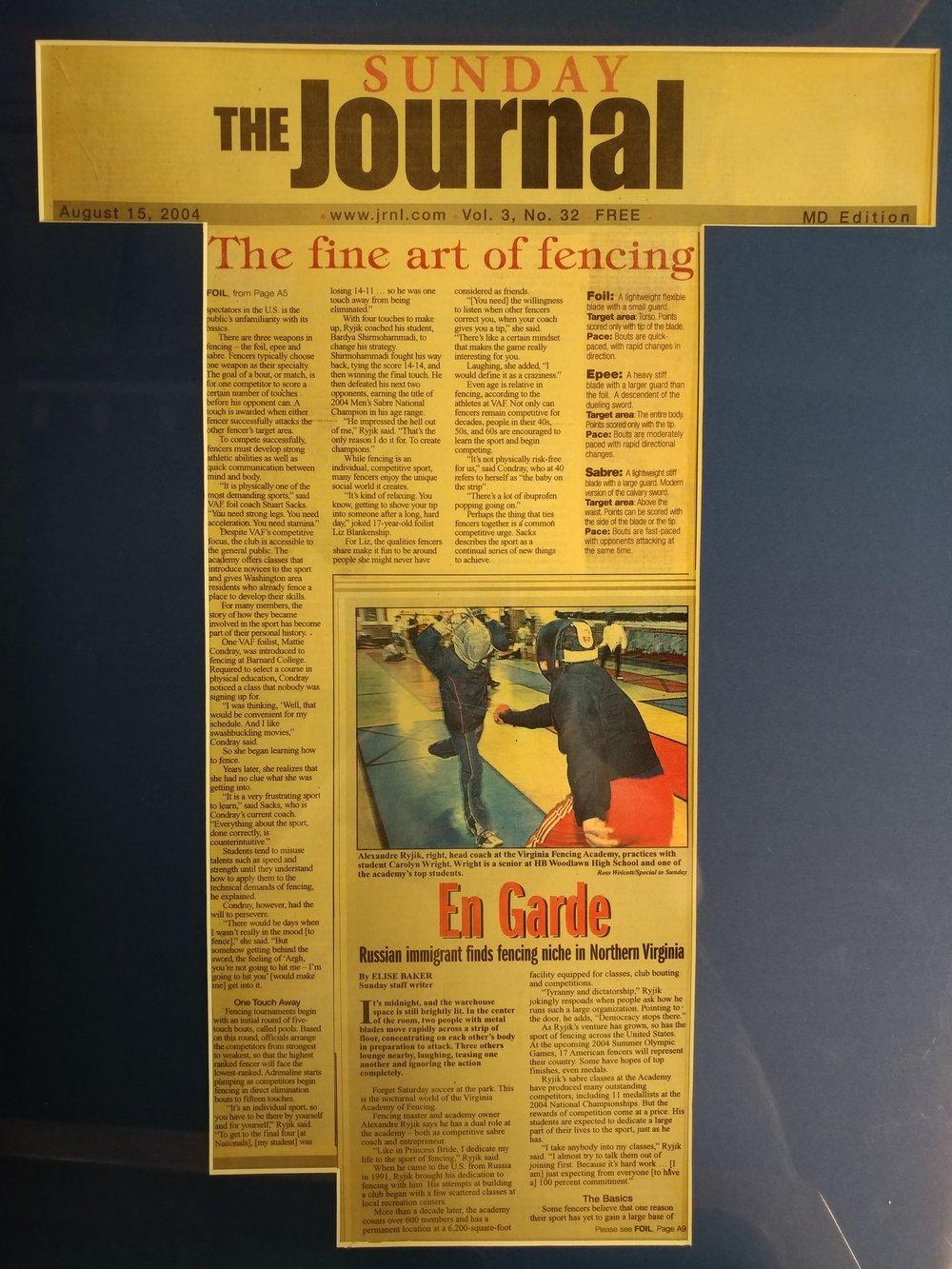 The Sunday Journal