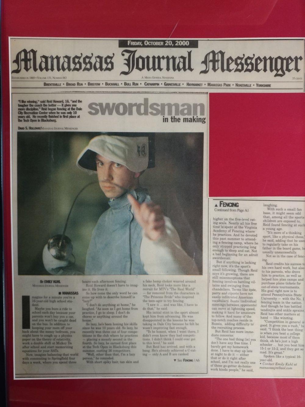Manassas Journal Messenger