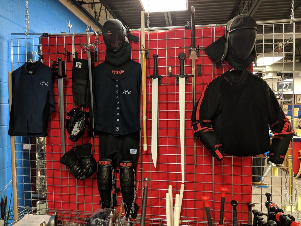 Historical Swordsmanship Protective Equipment