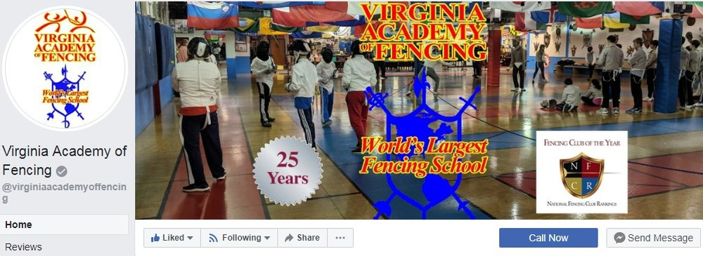 NEWS - Follow us on Facebook to get the latest news and important updates at VAF!
