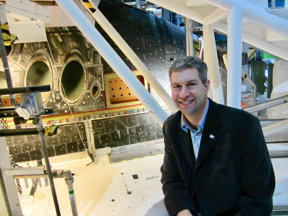 Dr Geoff Steeves - Dr. Geoff Steeves is a physics professor at the University of Victoria and a faculty member at the International Space University. He is also the outreach coordinator for The Planetary Society - Victoria. Geoff's passion for space exploration led him to be one of the final 16 candidates to be an astronaut!