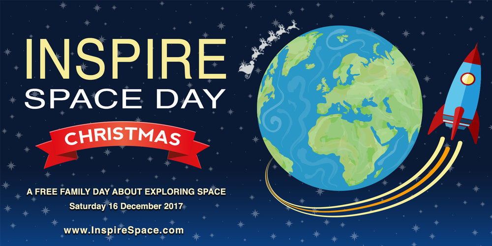 Inspire Space Dayat Christmas - December 16th 2017, Science Gallery DublinThis is a free family friendly event with lots of goodies, raffles, space talks and even a space movie! We will hear about the night sky at Christmas, Ireland's space activities and much much more :)